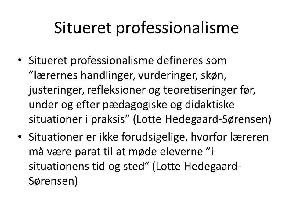 Situeret professionalisme