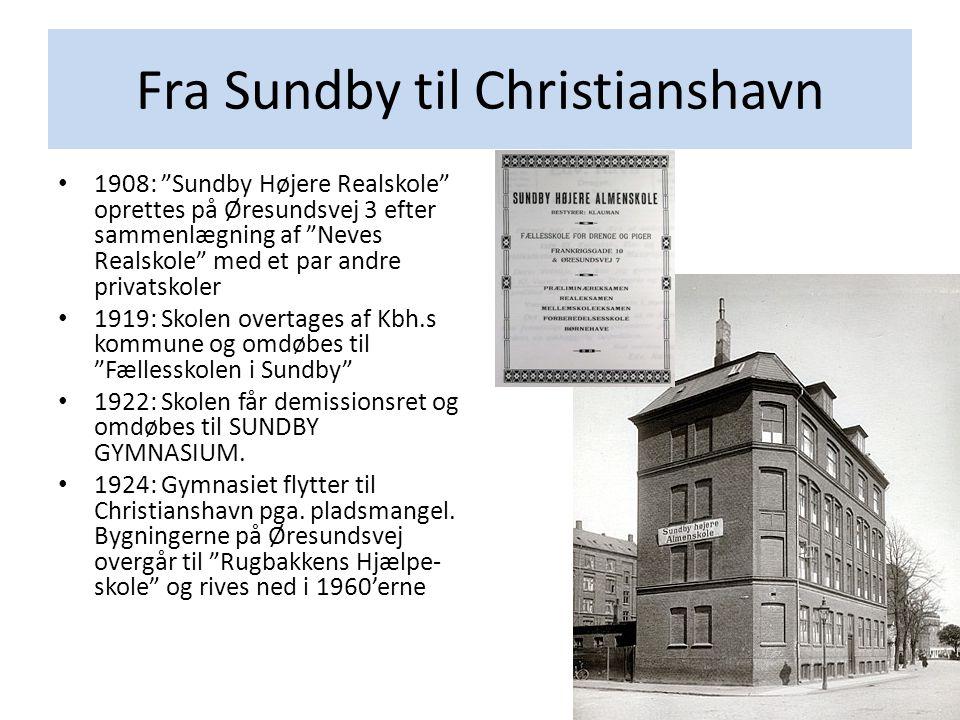 Fra Sundby til Christianshavn