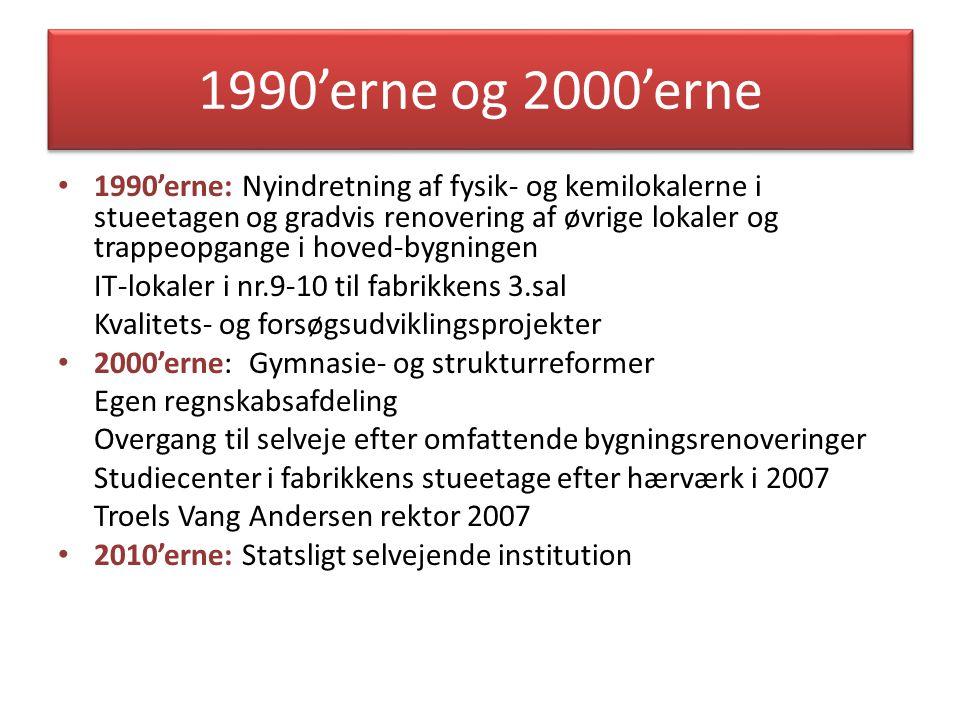 1990'erne og 2000'erne