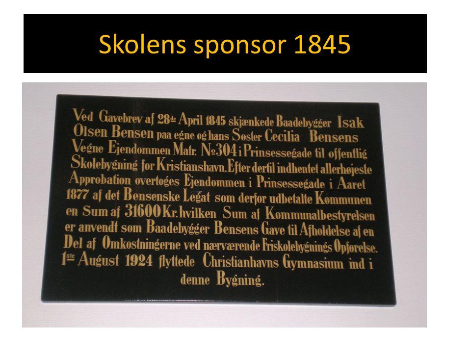 Skolens sponsor 1845