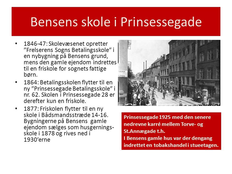 Bensens skole i Prinsessegade