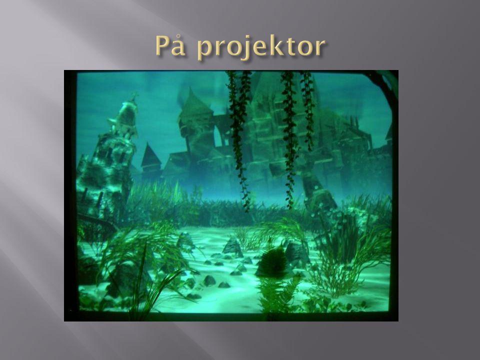 På projektor