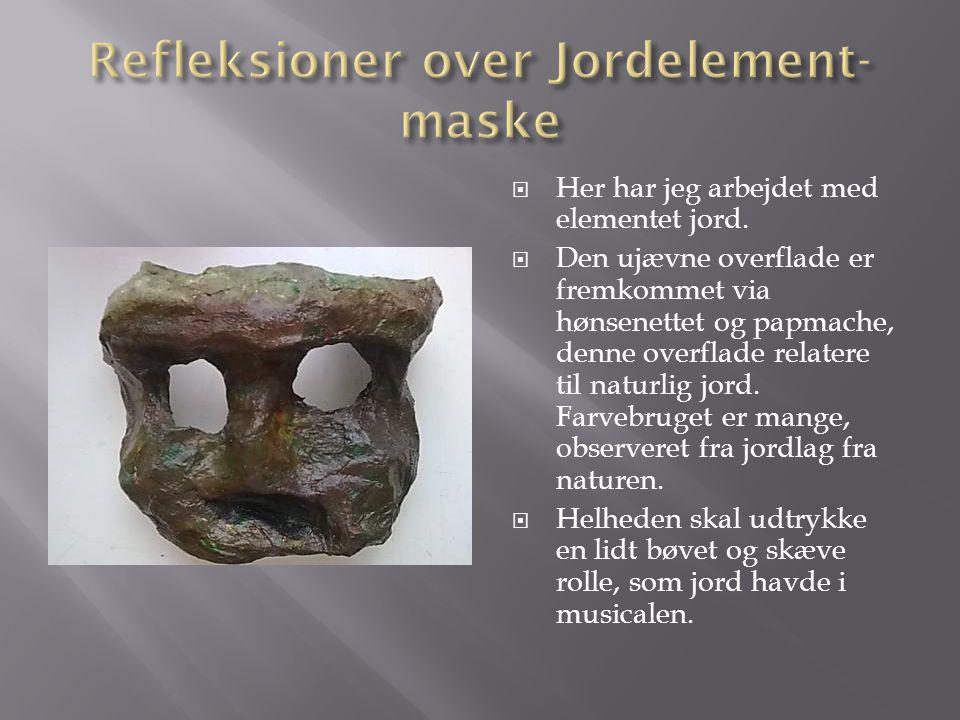 Refleksioner over Jordelement-maske