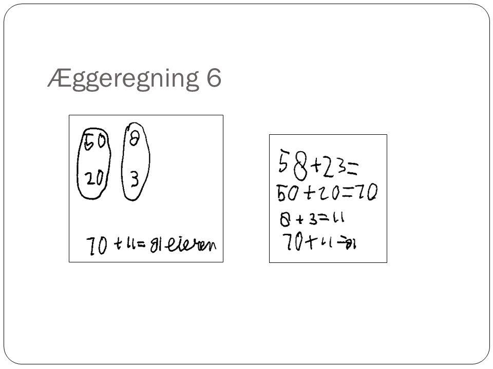 Æggeregning 6