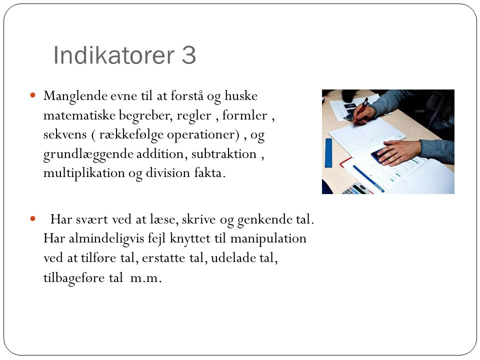 Indikatorer 3