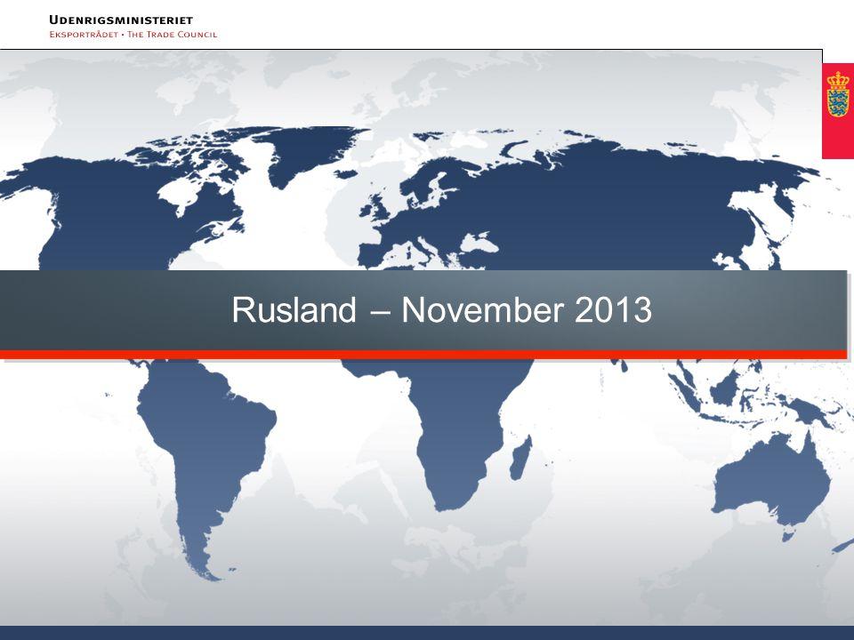 Rusland – November 2013 Velkommen