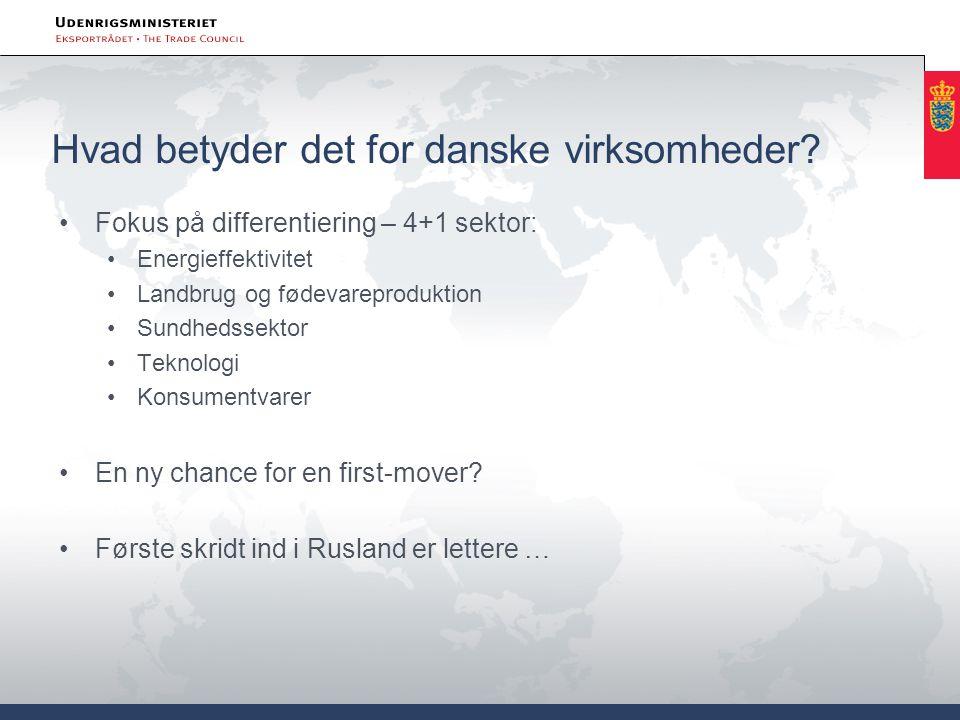 Hvad betyder det for danske virksomheder