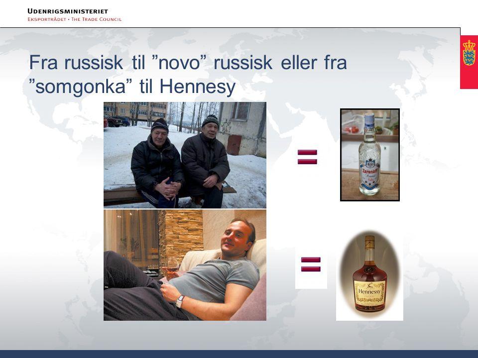 Fra russisk til novo russisk eller fra somgonka til Hennesy
