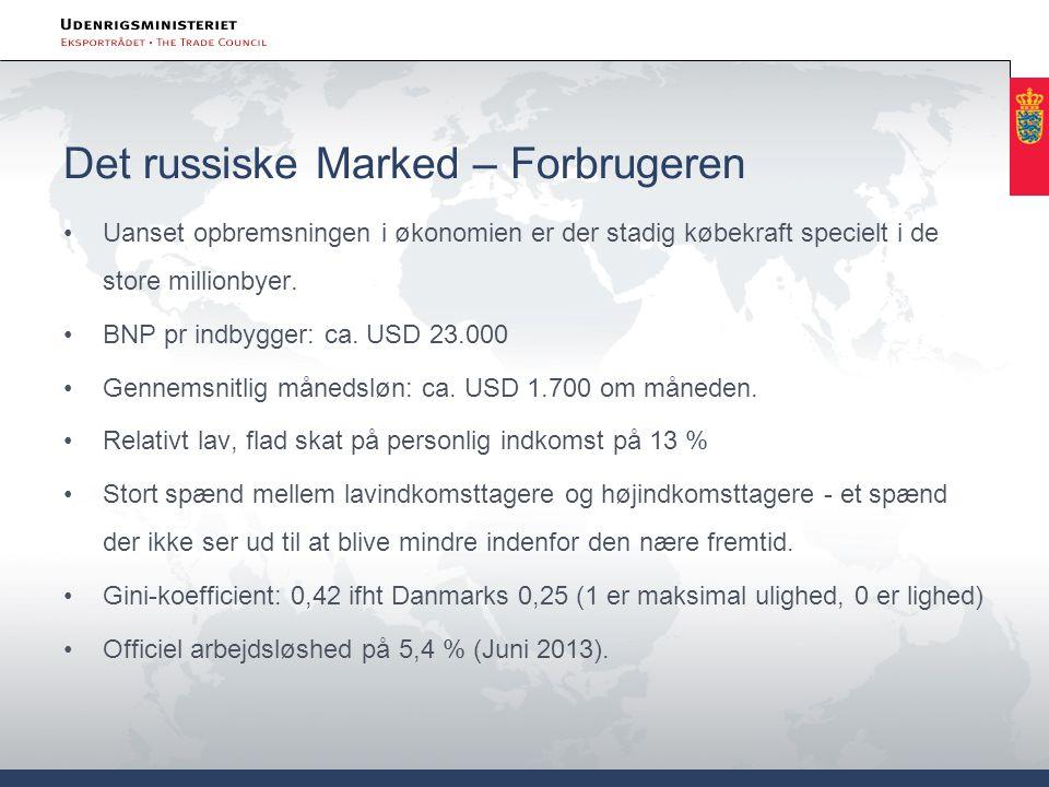 Det russiske Marked – Forbrugeren