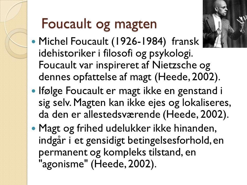 Foucault og magten