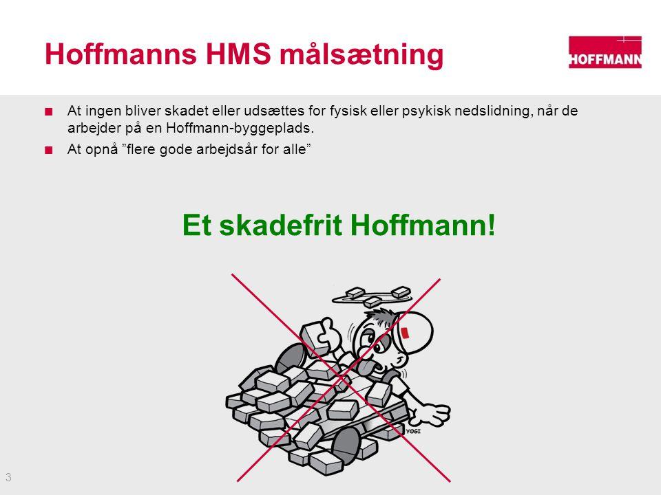 Hoffmanns HMS målsætning