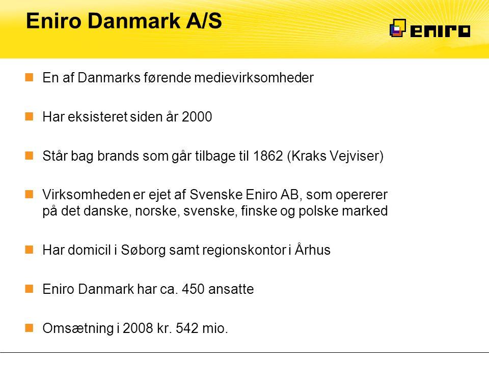 Eniro Danmark A/S En af Danmarks førende medievirksomheder