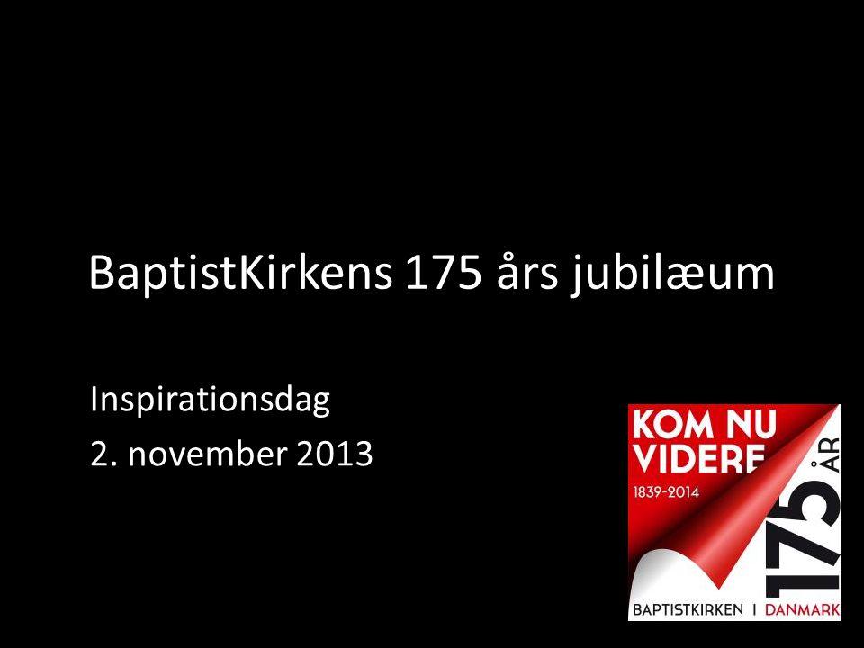 BaptistKirkens 175 års jubilæum