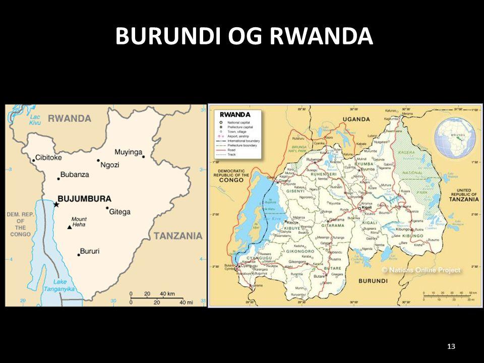 Burundi og RWaNDA