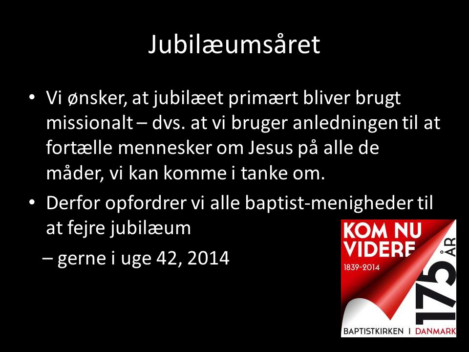 Jubilæumsåret