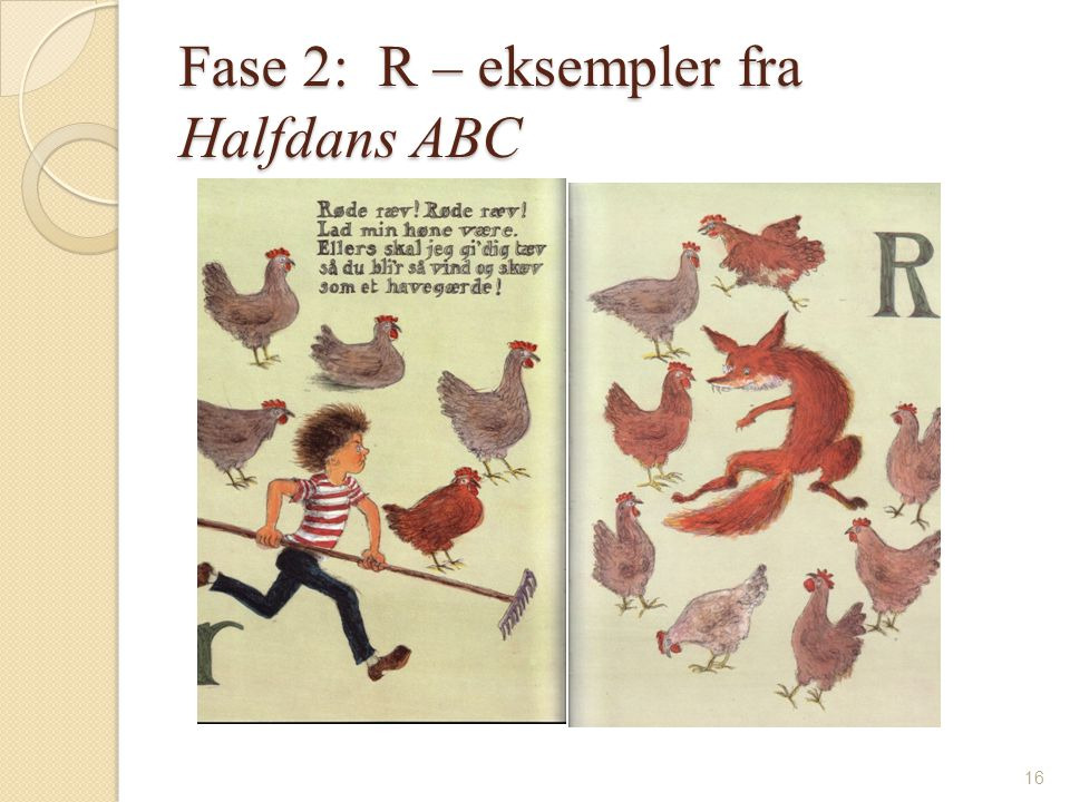 Fase 2: R – eksempler fra Halfdans ABC