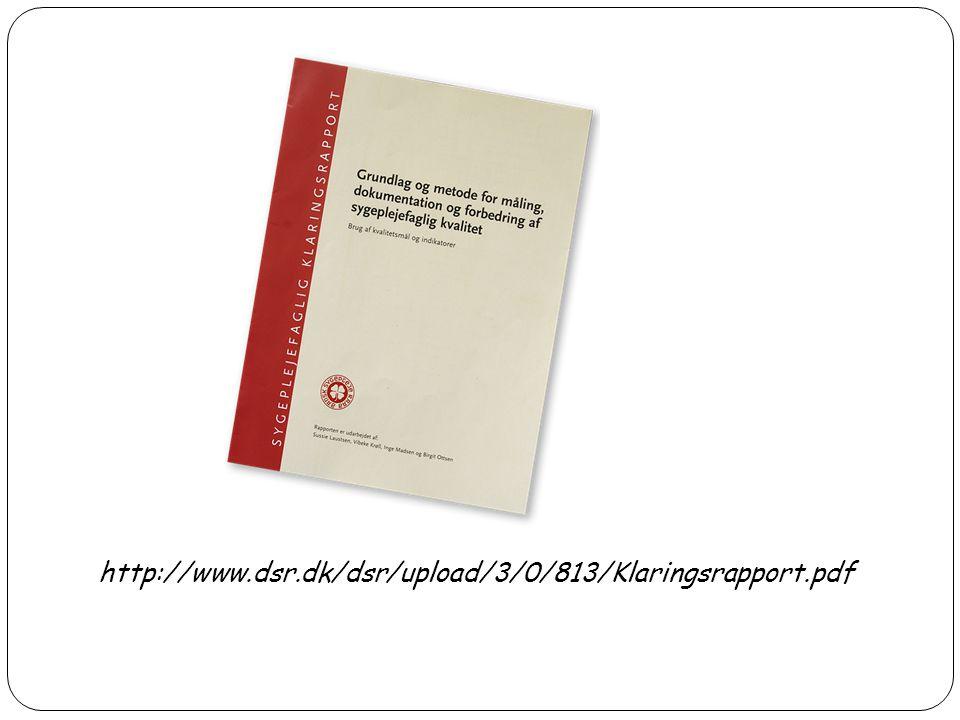 http://www.dsr.dk/dsr/upload/3/0/813/Klaringsrapport.pdf 5