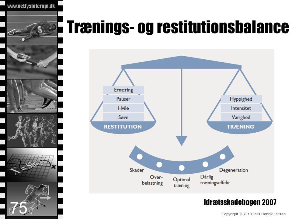 Trænings- og restitutionsbalance