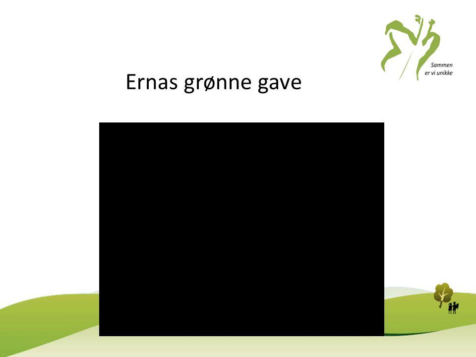 Ernas grønne gave