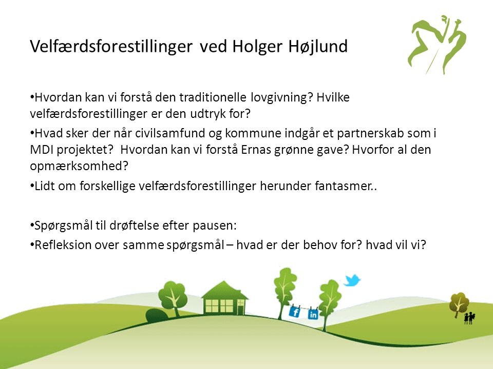 Velfærdsforestillinger ved Holger Højlund