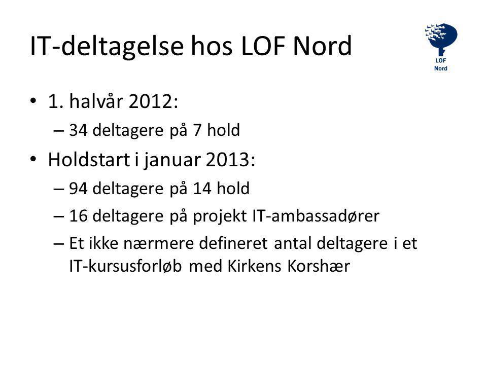IT-deltagelse hos LOF Nord