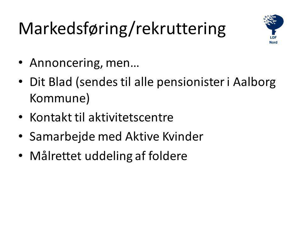 Markedsføring/rekruttering