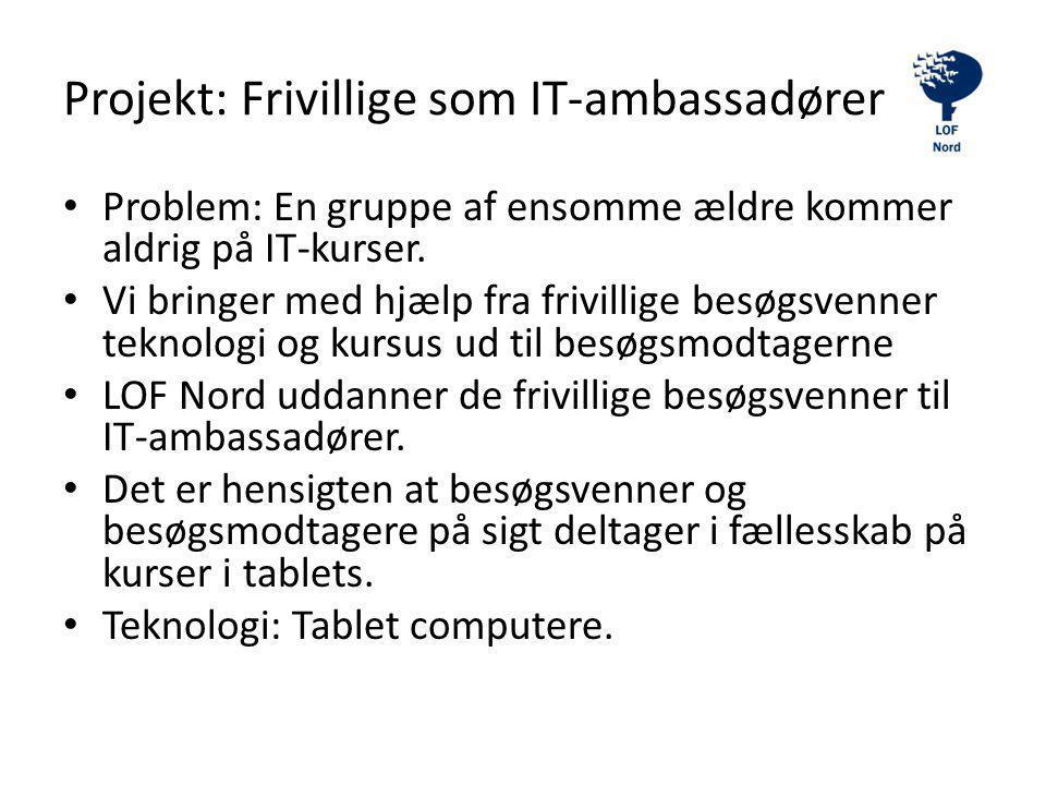 Projekt: Frivillige som IT-ambassadører