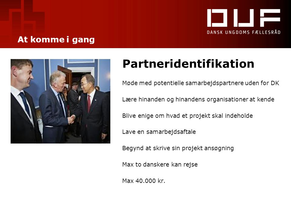 Partneridentifikation