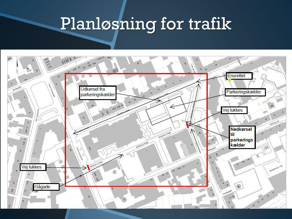Planløsning for trafik