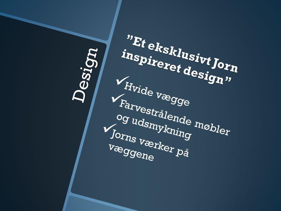 Design Et eksklusivt Jorn inspireret design Hvide vægge