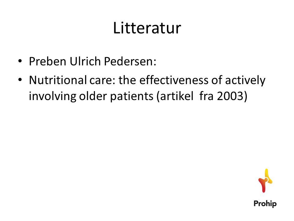Litteratur Preben Ulrich Pedersen: