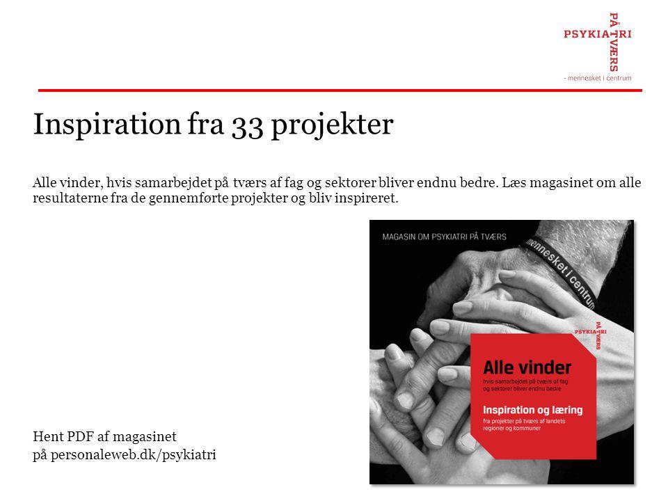 Inspiration fra 33 projekter