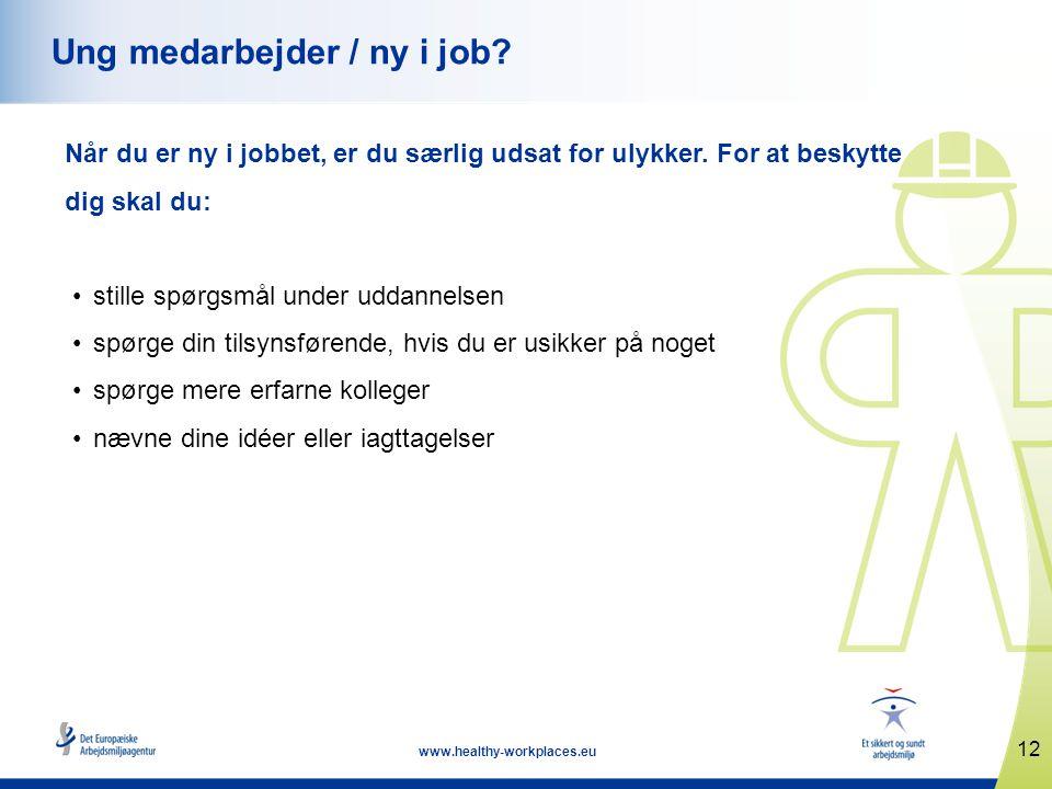 Ung medarbejder / ny i job
