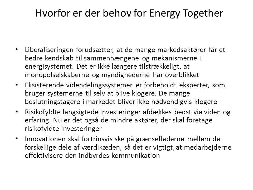 Hvorfor er der behov for Energy Together