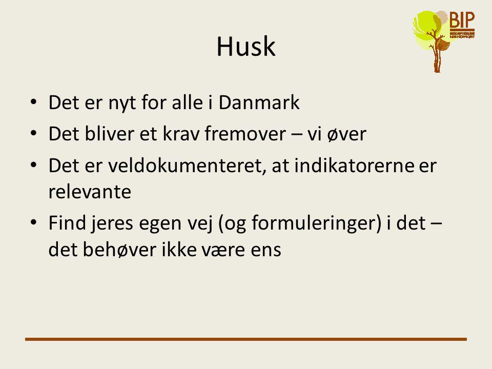 Husk Det er nyt for alle i Danmark