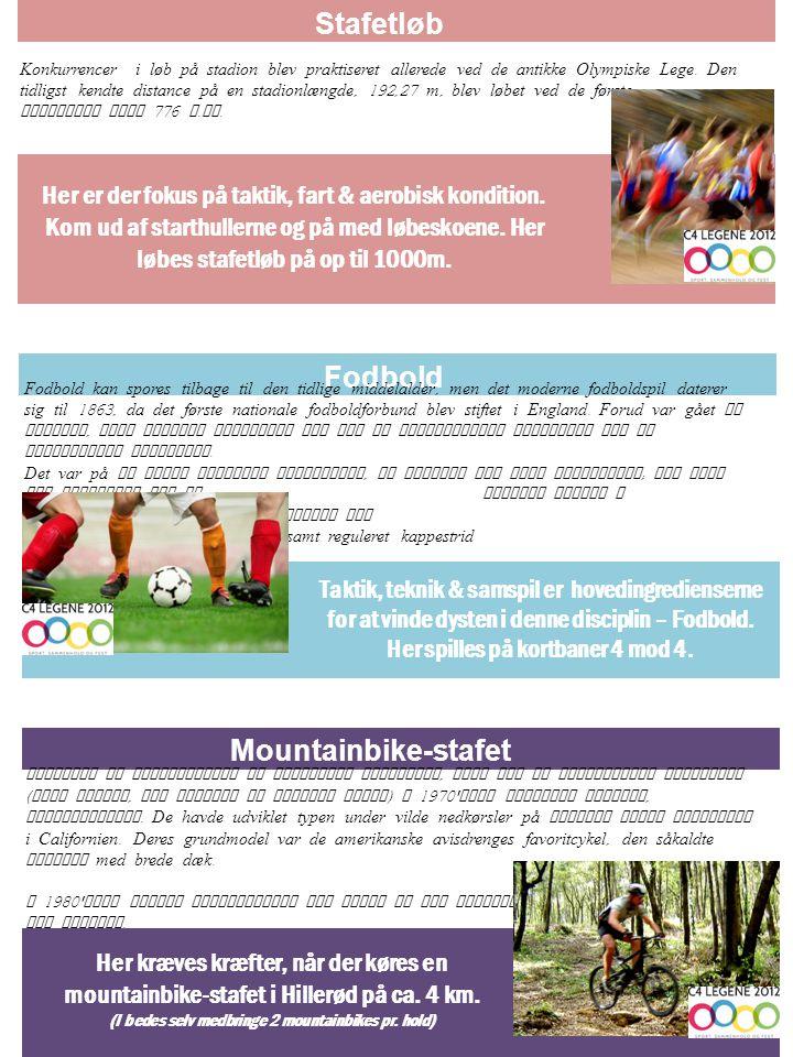 Stafetløb Fodbold Mountainbike-stafet
