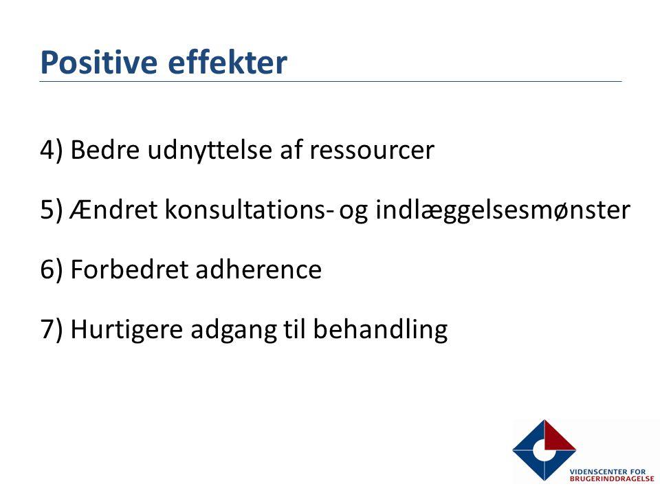 Positive effekter
