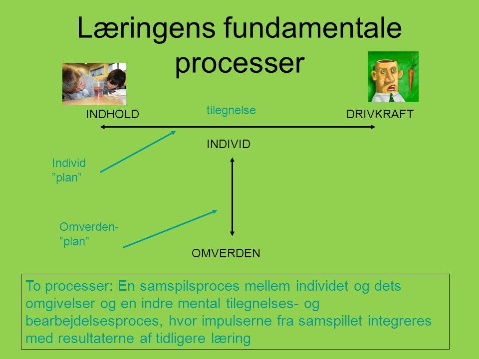 Læringens fundamentale processer