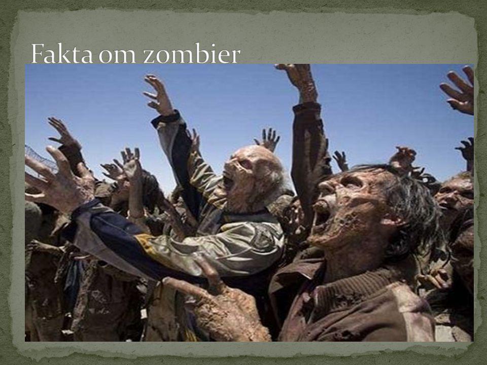 Fakta om zombier