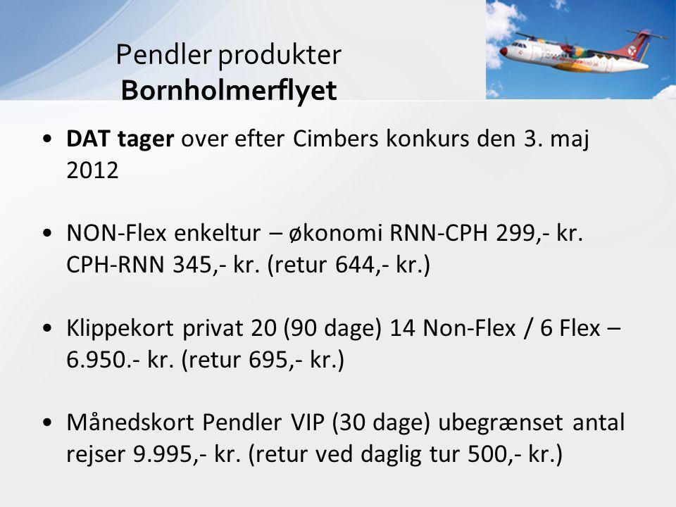 Pendler produkter Bornholmerflyet