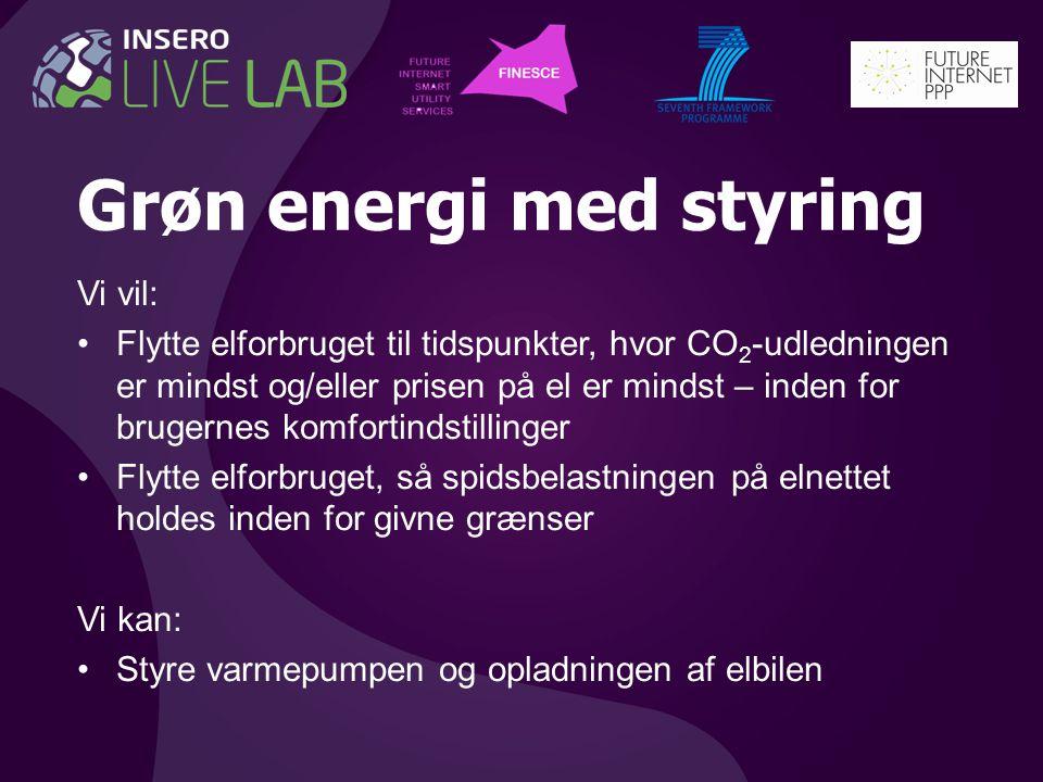 Grøn energi med styring