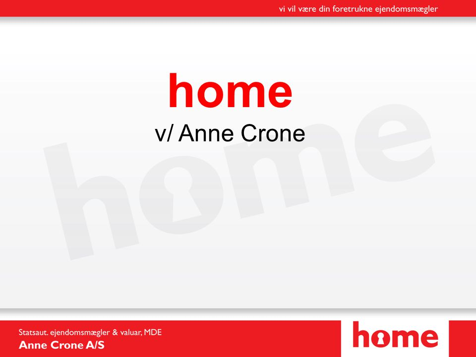 home v/ Anne Crone