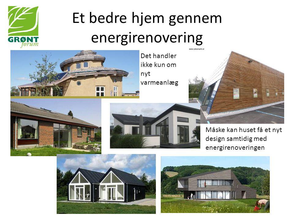 Et bedre hjem gennem energirenovering