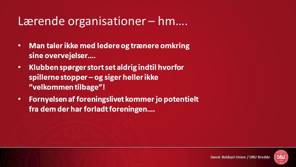 Lærende organisationer – hm….
