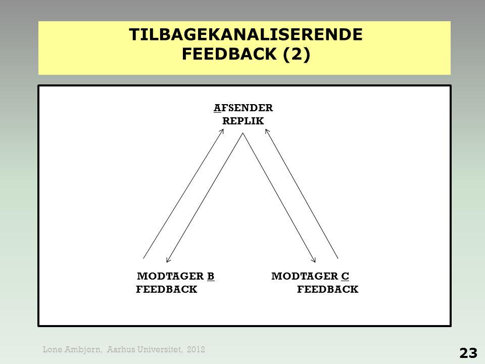 tilbagekanaliserende feedback (2)