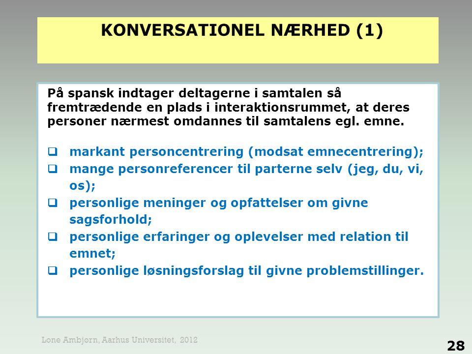 KONVERSATIONEL NÆRHED (1)