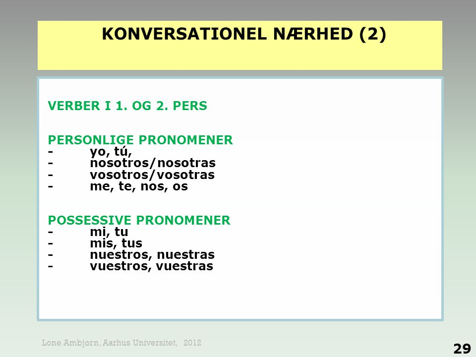 KONVERSATIONEL NÆRHED (2)