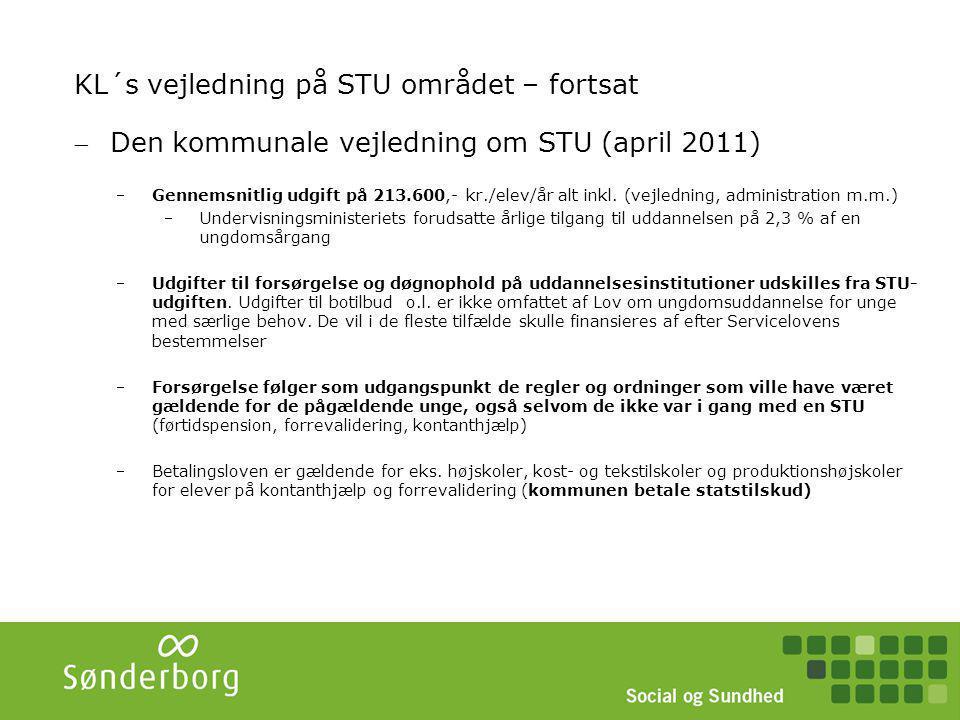 STU Sønderborg STU Alsgade (v/Sønderborg Produktionshøjskole) STU Præstegården (v/Den Gamle Præstegård)