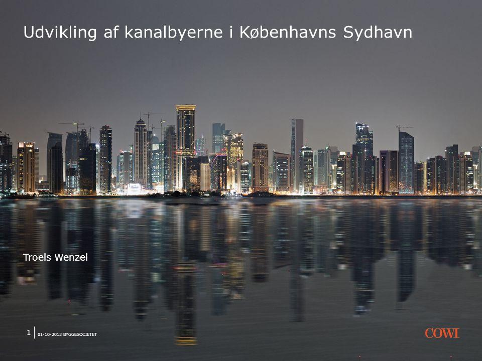 Udvikling af kanalbyerne i Københavns Sydhavn