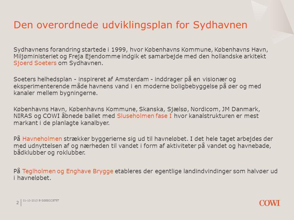 Den overordnede udviklingsplan for Sydhavnen